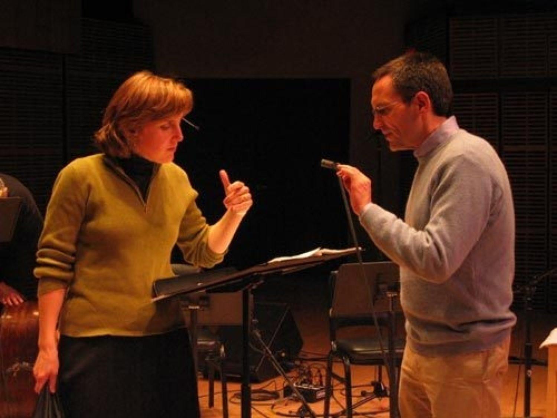 Dawn Upshaw and Osvaldo Golijov prepare the world premiere of Ayre at Zankel Hall in New York
