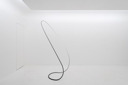 Otto Boll installation view at Axel Vervoordt Gallery Hong Kong