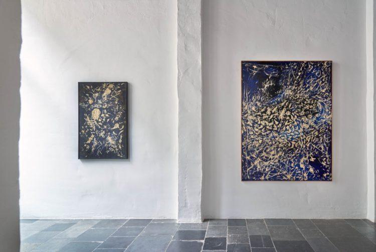 Installation view of Masanobu's Antwerp exhibition