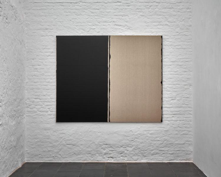 Installation view of Hyong-Keun Yun's Antwerp exhibition