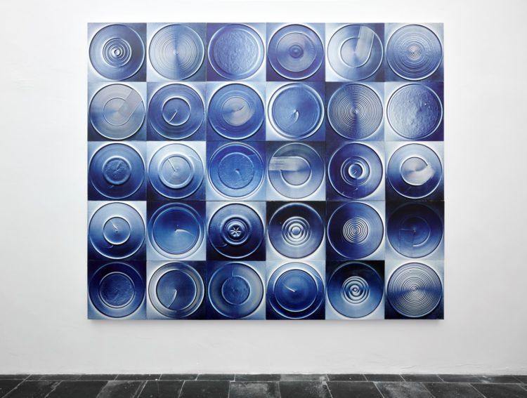Installation view of Nasaka's Antwerp exhibition (2015)
