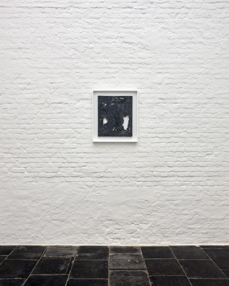 Installation view of Shozo Shimamoto's Antwerp exhibition (2015)