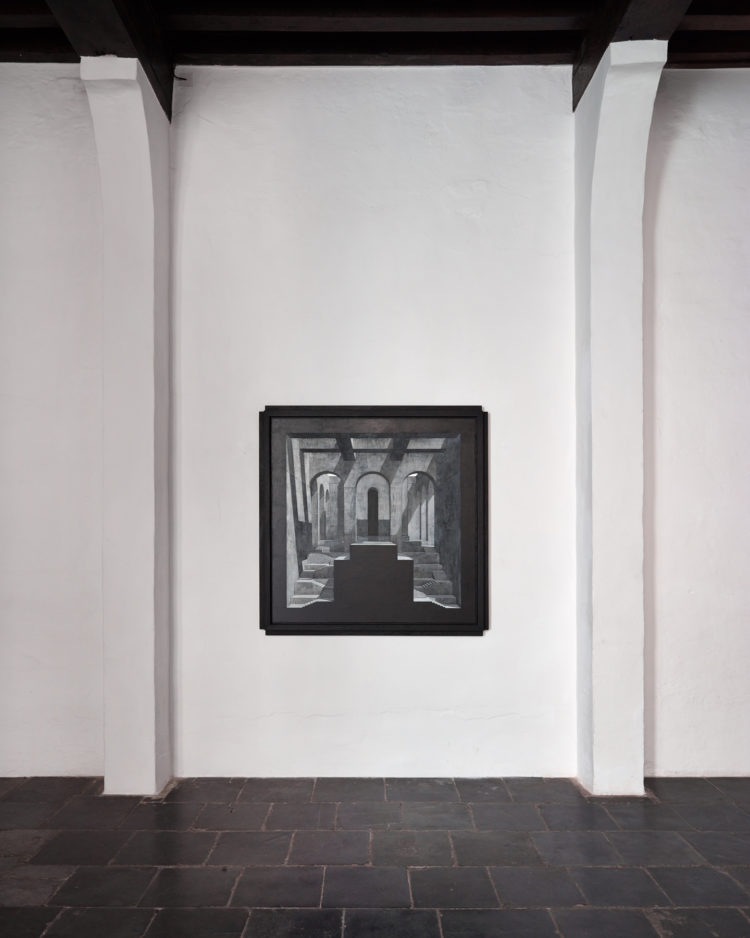 Installation view of Renato Nicolodi's Antwerp exhibition (2016)