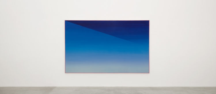 Installation view of Jef Verheyen's exhibition at Kanaal (2018)