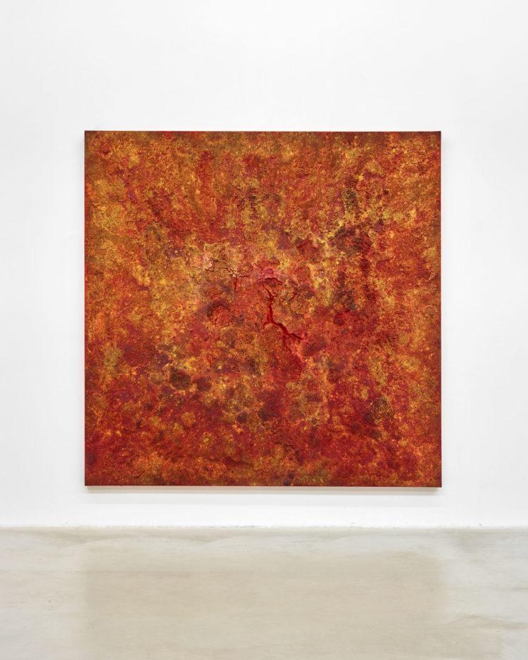 Bosco Sodi (° Mexico City, 1970), Untitled, 2016, 250 x 250 cm