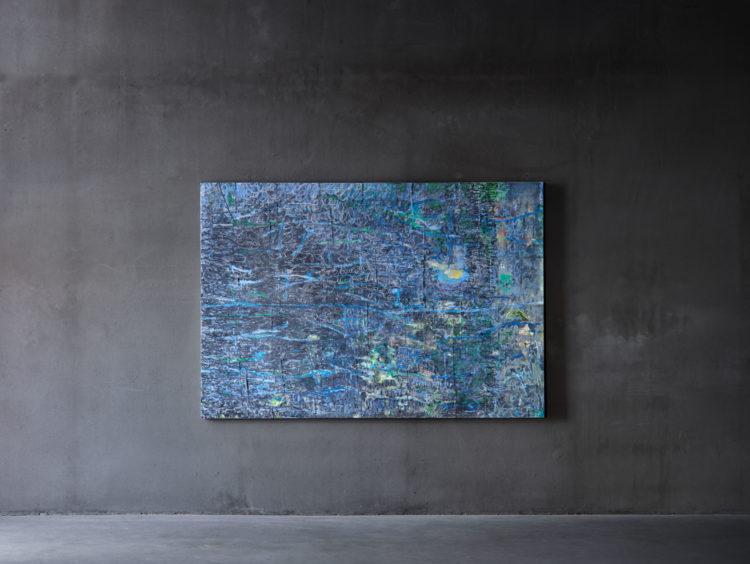 Les Belles Idées reçues (sans titre), bleu