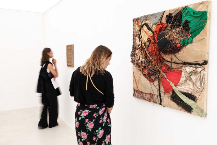 Installation view of Sadaharu Horio's exhibition in Hong Kong (2018)