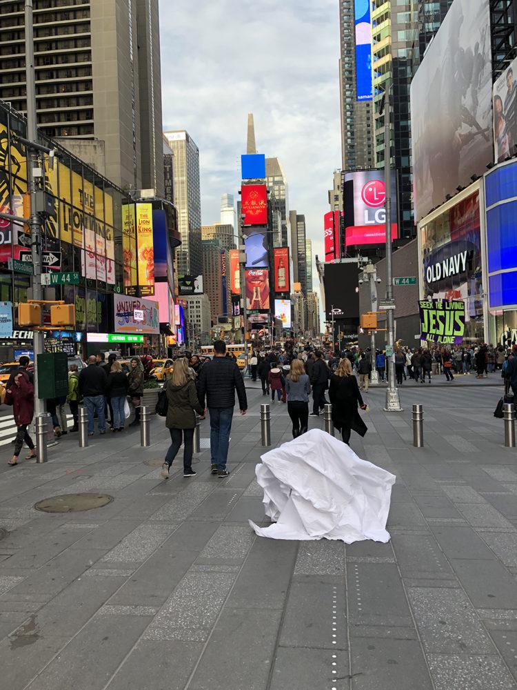 Angel Vergara's live performance, Straatman, New York City (2017)