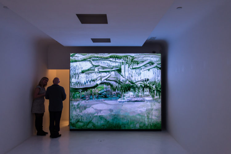 Installation view, Angel Vergara's Hong Kong exhibition