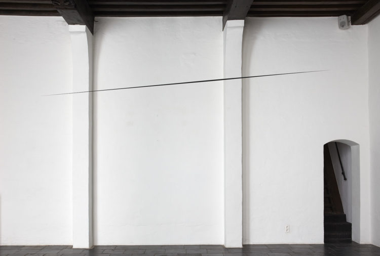 Installation view of Otto Bol's Antwerp exhibition (2012)