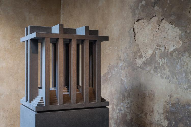 Installation view of 'OMNIUM MEMORIA I' by Renato Nicolodi