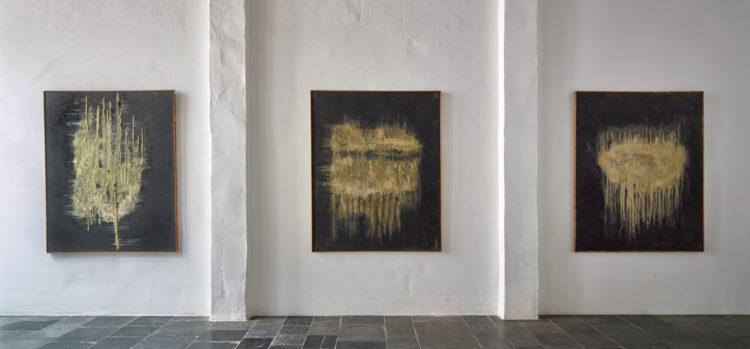 Installation view of Ryuji Tanaka's exhibition in Antwerp (2016)