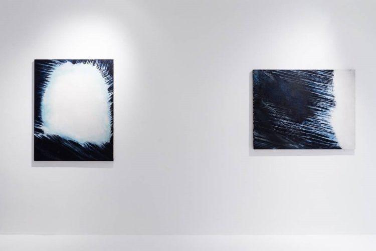 Installation view of Ryuji Tanaka's exhibition in Hong Kong (2016)