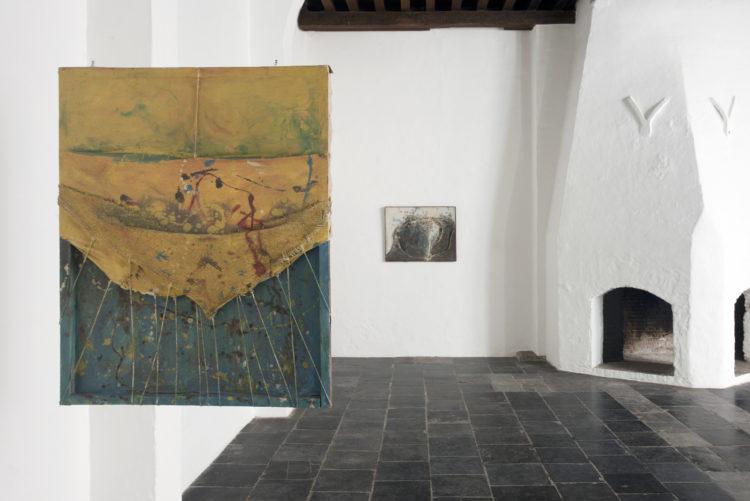 Installation view of Tsuyoshi Maekawa's Antwerp exhibition (2014)