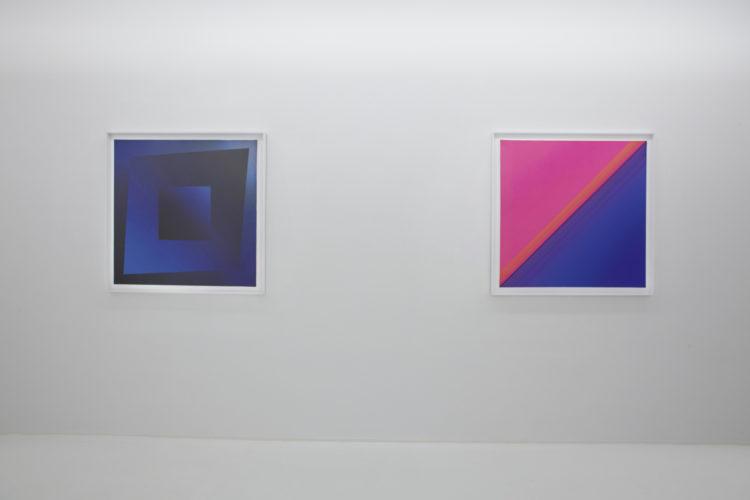 Installation view of Jef Verheyen's exhibition In Hong Kong