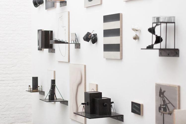 Installation view of Marco Tirelli's Antwerp exhibition (2014