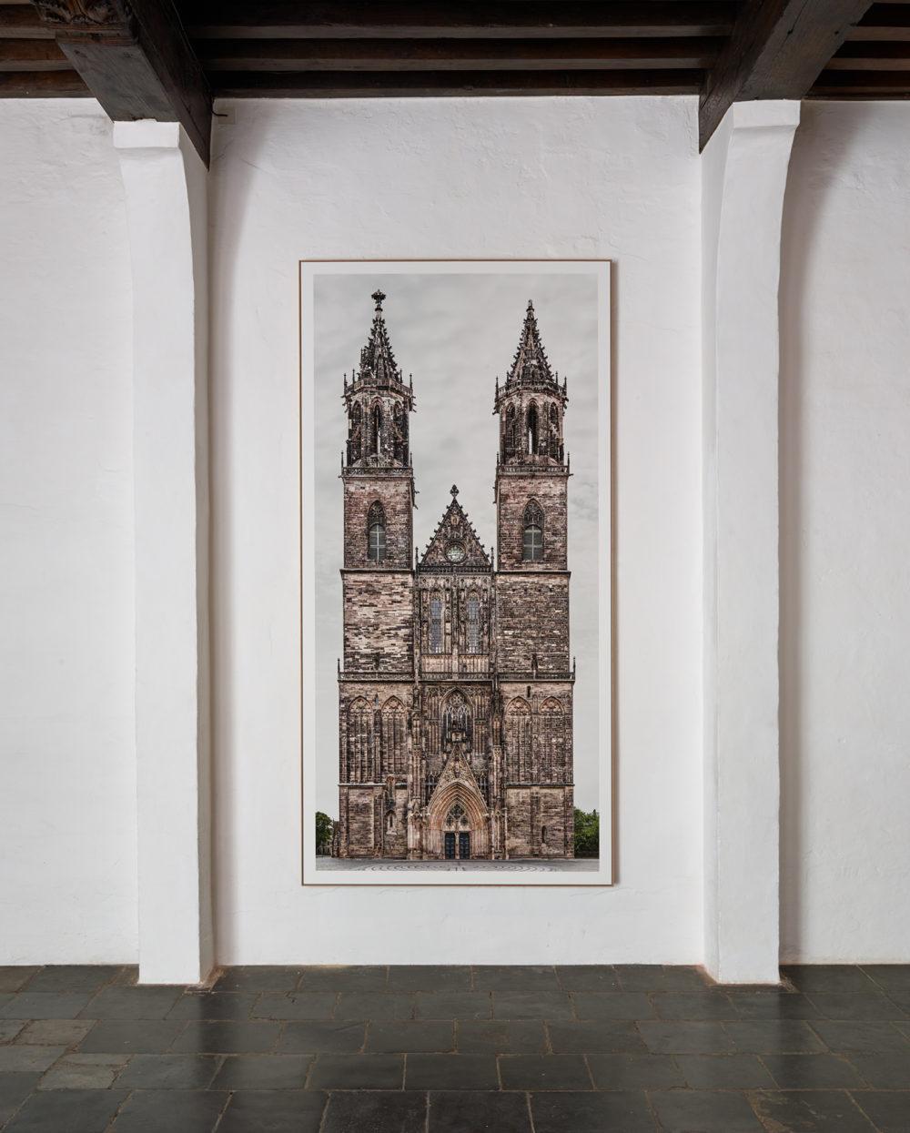 Installation view of Markus Brunetti's Antwerp exhibition (2016)