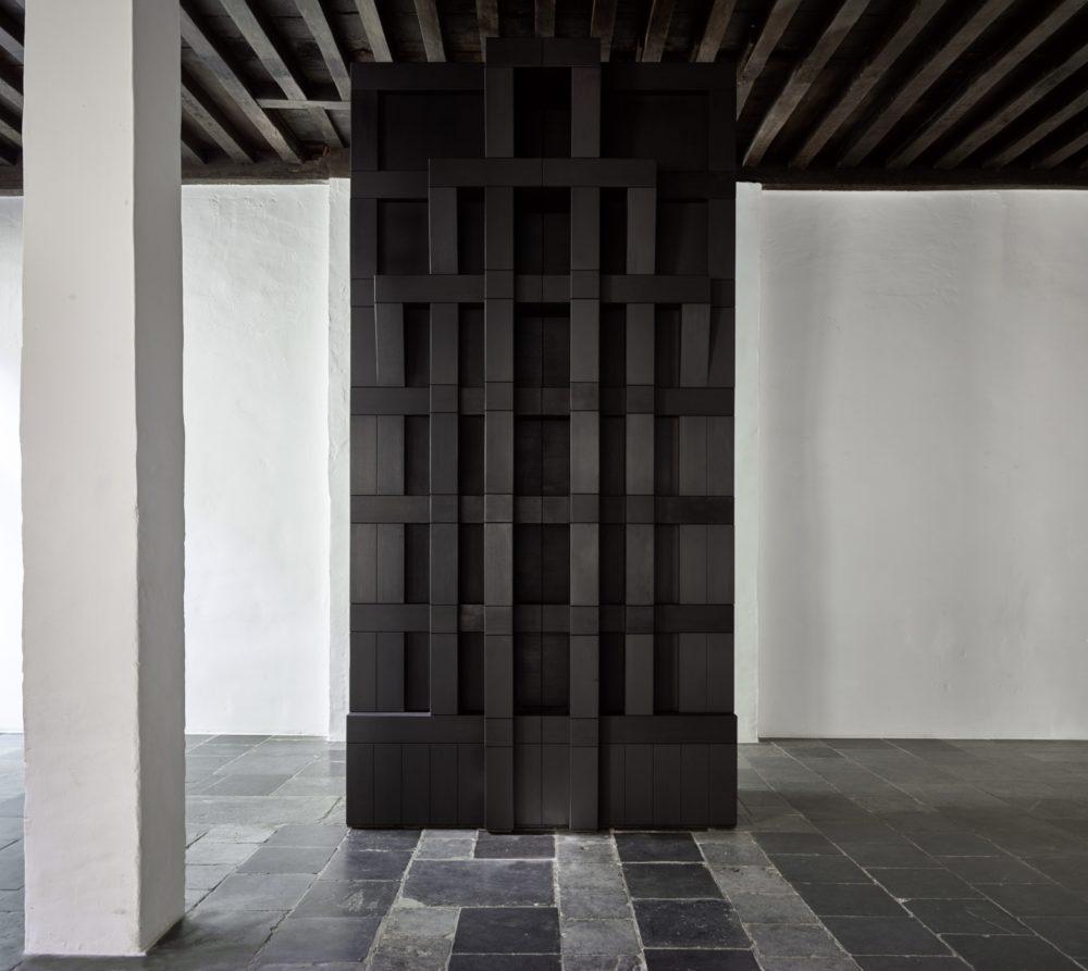 Installation view of Renato Nicolodi's Antwerp exhibition (2016)