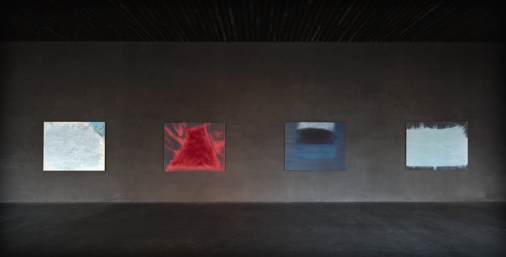 Installation view of Ryuji Tanaka's exhibition at Kanaal (2018)