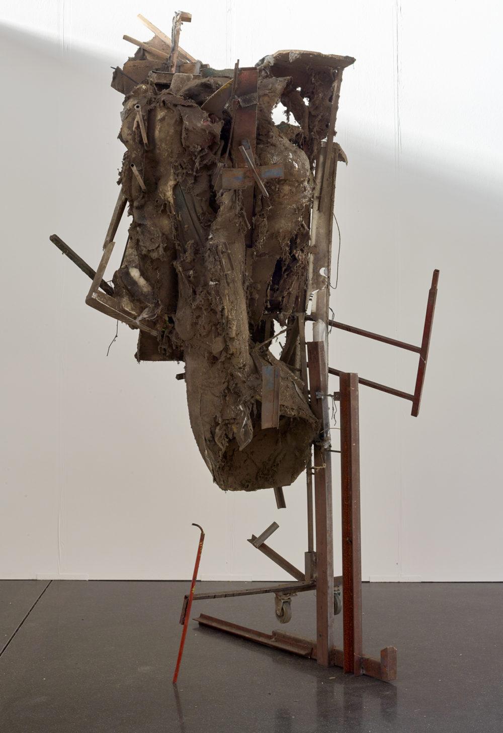 Installation view of Peter Buggenhout's work at Art Düsseldorf  (2018)