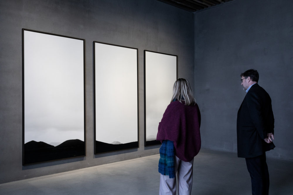 "Installation view of Bae Bien-U's exhibition, ""Cycle"""
