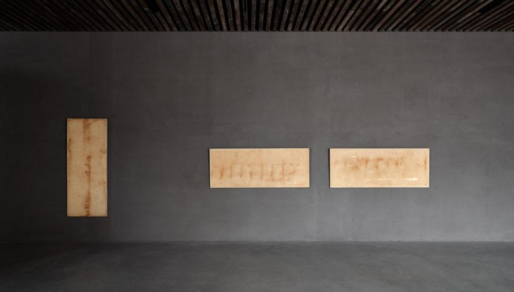 Installation view of Chang-Sup Chung's exhibition at Kanaal