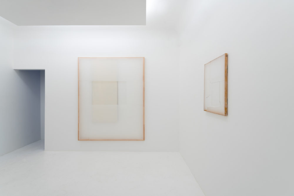 Installation view of Jaromir Novotný's Hong Kong exhibition (2017)