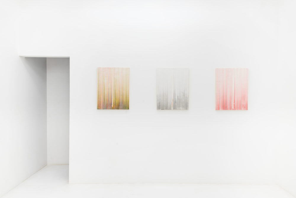 Installation view of Mouffe's Hong Kong exhibition (2018)