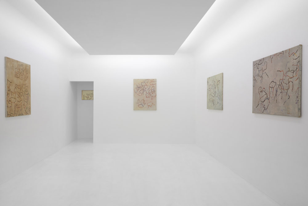 Installation view of Ida Barbarigo's Hong Kong exhibition