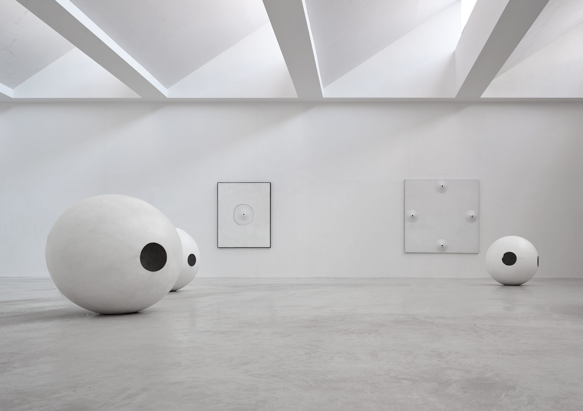 "Installation view of Norio Imai's, ""Material Ecstasy"" (2017-18)"