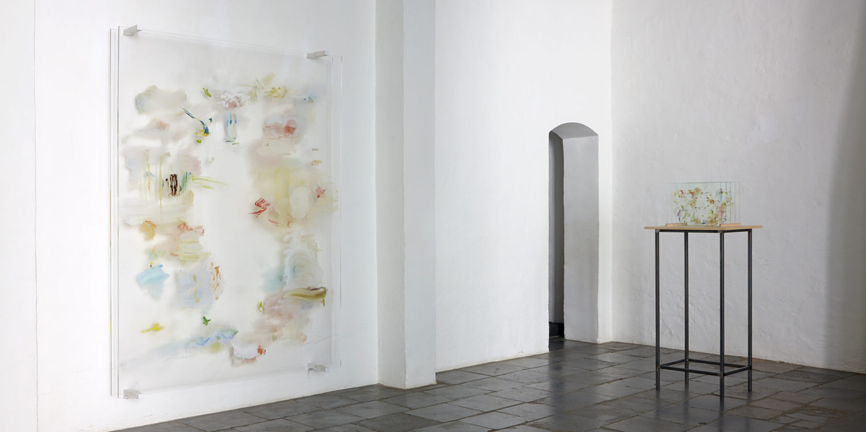 Installation view of Angel Vergara - Life Illumations, 2014