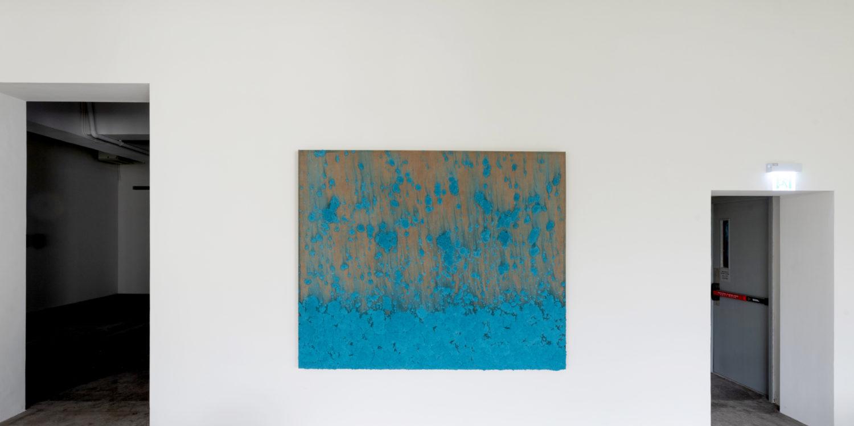 Untitled, 2019, Mixed Media on Linen, 180x220 cm, Bosco Sodi, Axel Vervoordt Gallery Hongkong