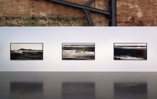 Installation view of works by Bae Bien-U