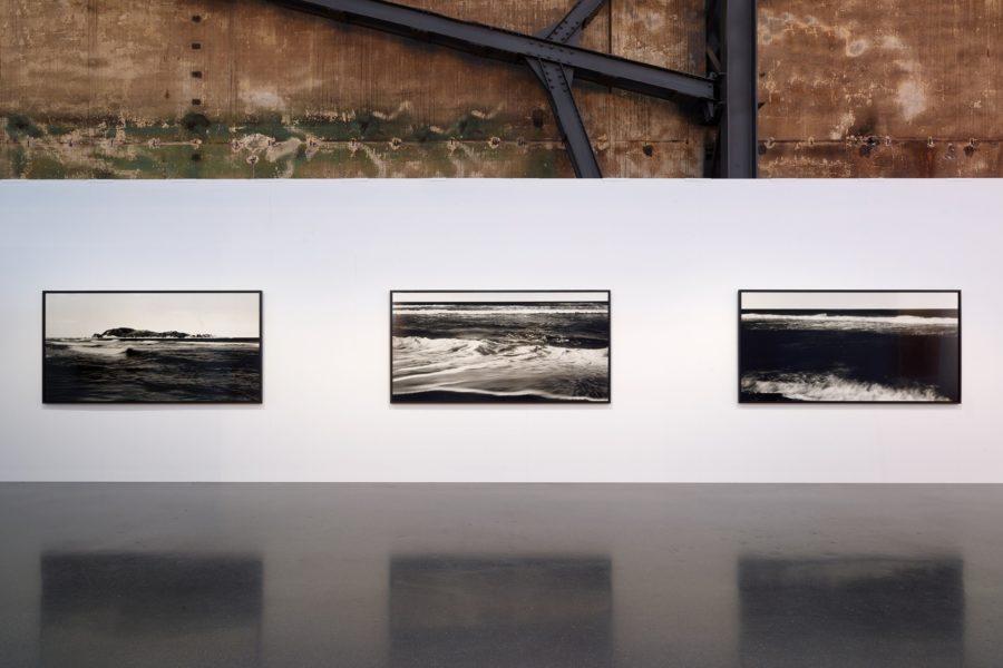 Installation view of works by Bae Bien-U