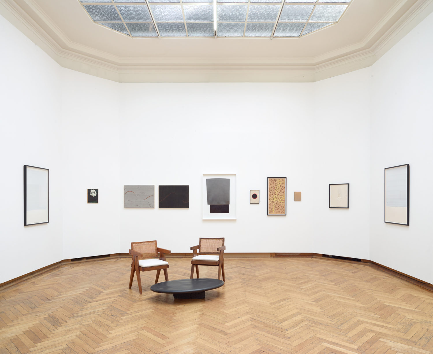 Installation view of Axel Vervoordt Gallery at Art on Paper 2021