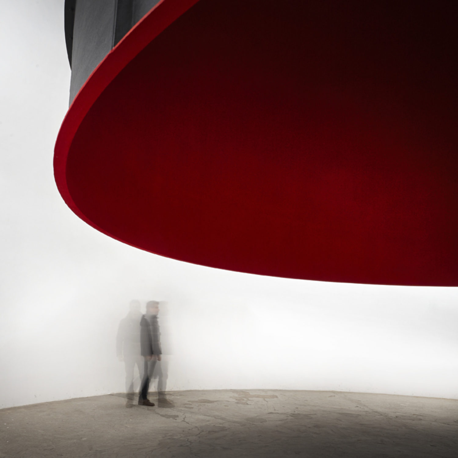 "Installation view of Anish Kapoor's ""At the Edge of the World"""