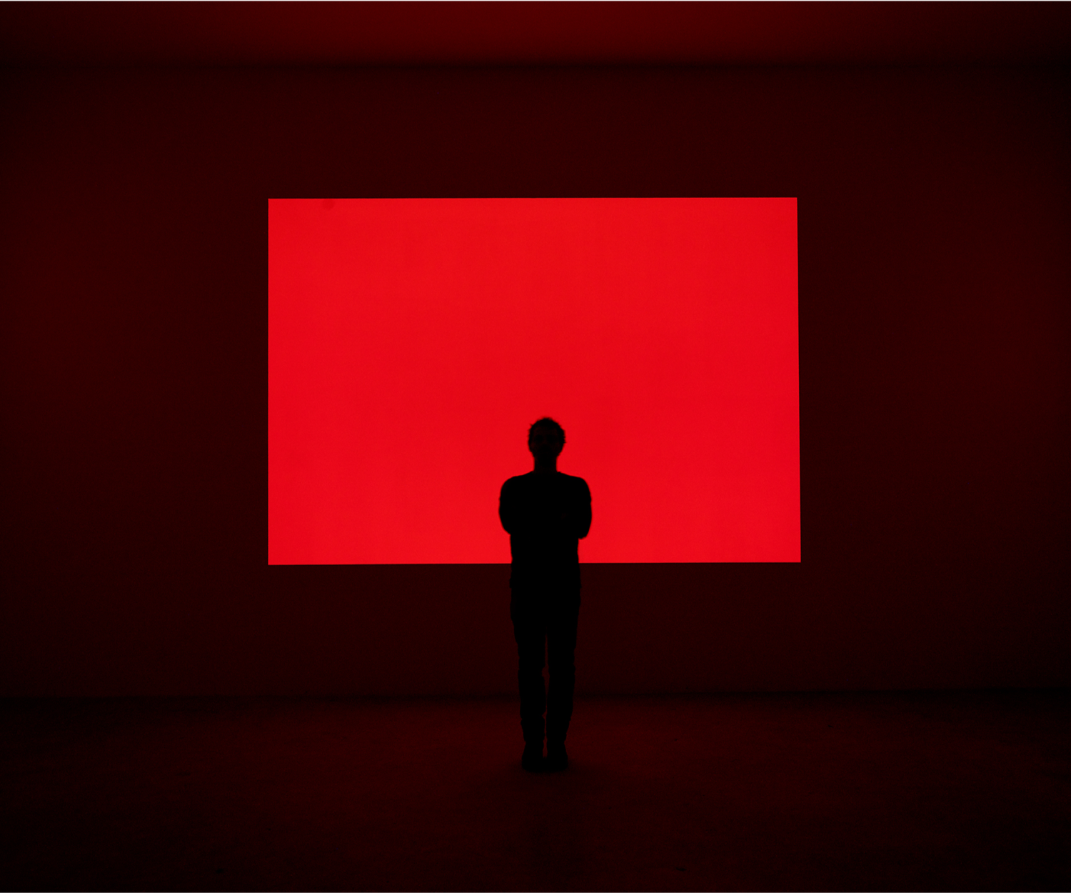 "James Turrell's ""Red Shift"" (1995)"