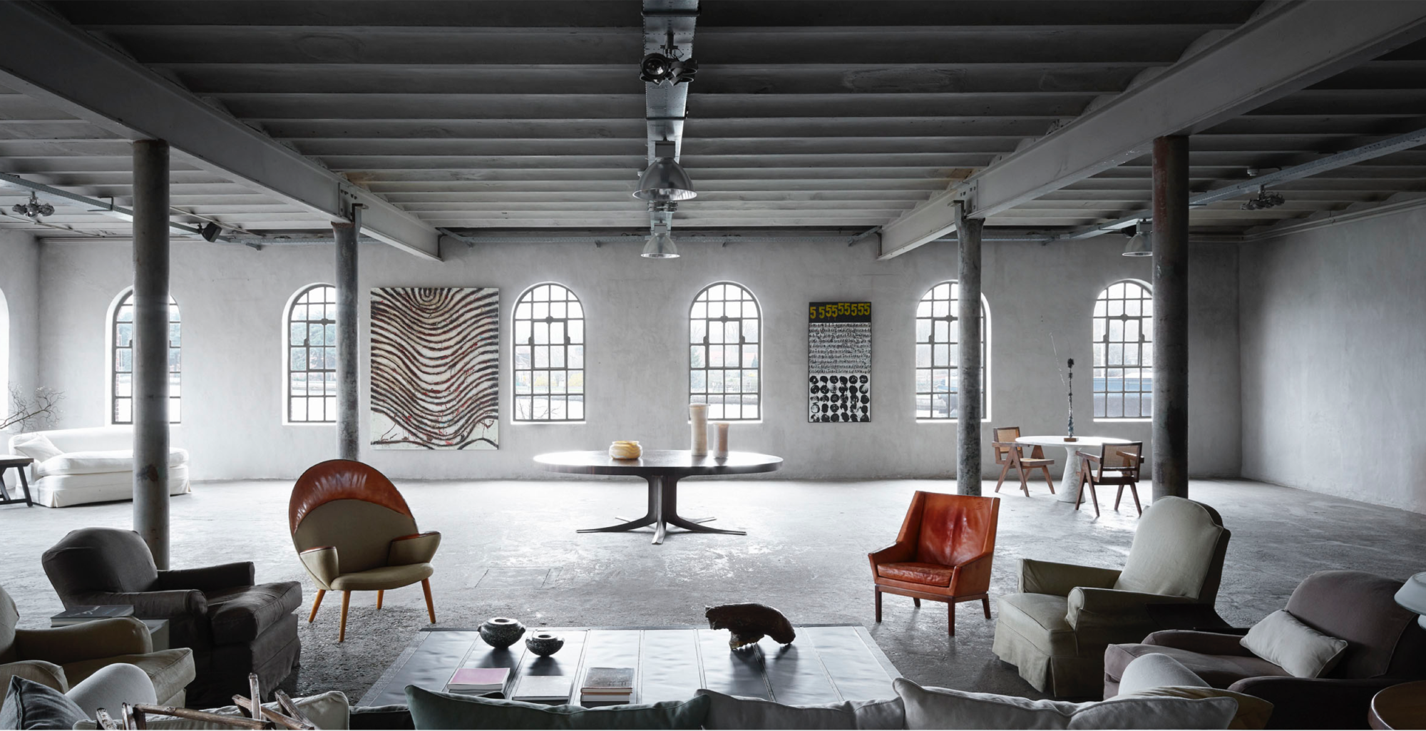 The Antiquaire studio spaces at Kanaal, which are the home of our Interiors & Design Practice