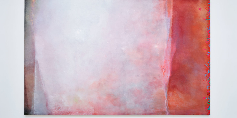 J'efface, et cela apparaît, Angel Vergara, 2020, Oil on canvas, 200 x 321 cm
