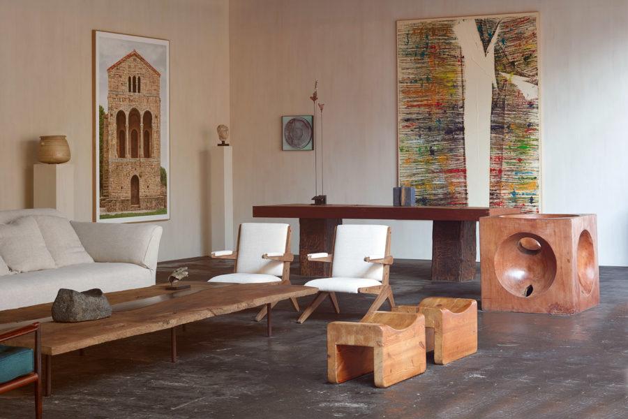 Installation view of Axel Vervoordt at BRAFA 2020
