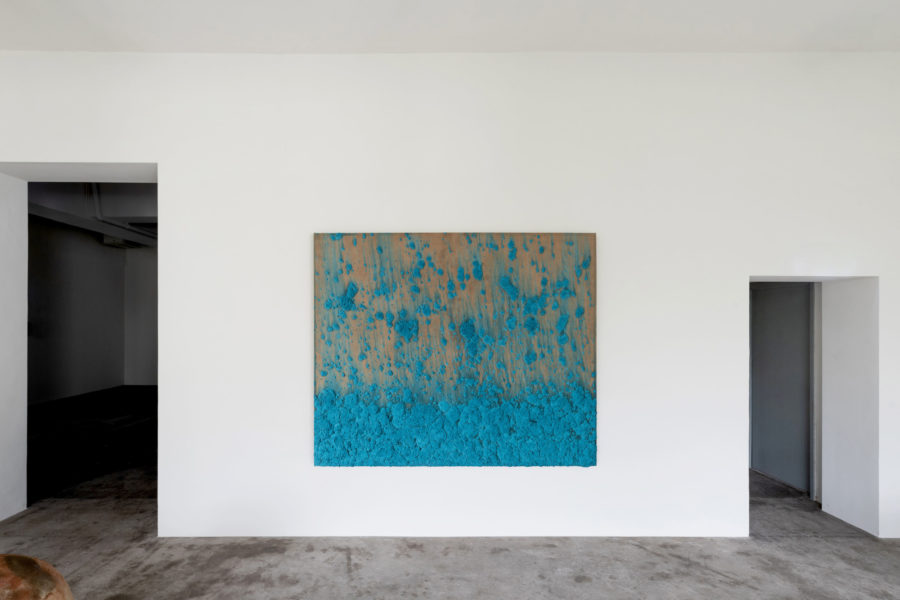 Untitled, Bosco Sodi (° Mexico City, 1970), Mixed media on linen, 180 x 210 cm